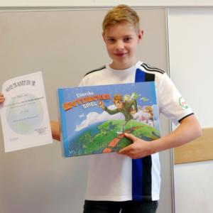 Felix Albern – Gewinner des Diercke-WISSEN-Juniorentest